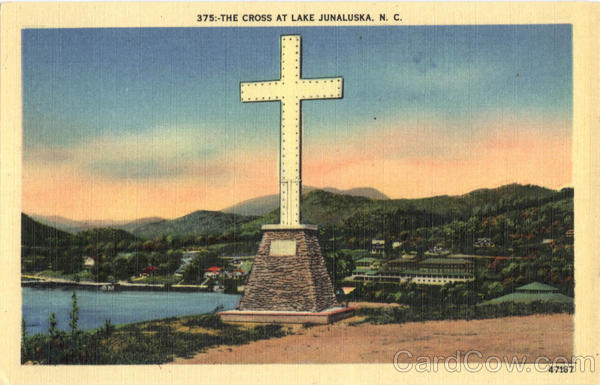 The Cross at Lake Junaluska North Carolina