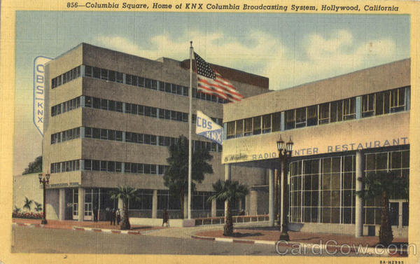 Columbia Square CBS Broadcasting Hollywood California