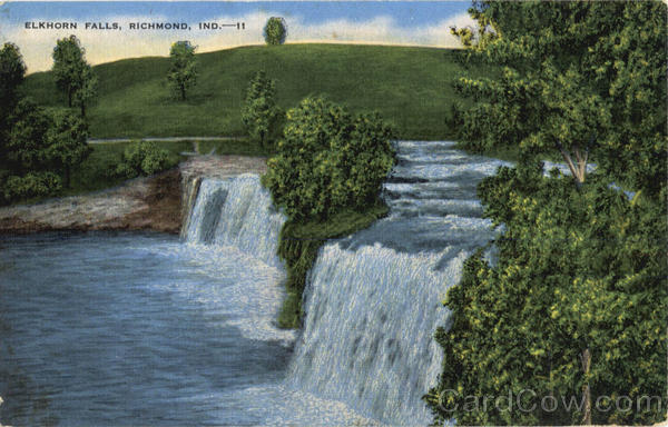 Elkhorn Falls Richmond Indiana