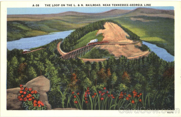 The Loop on The L. & N. Railroad Railroad (Scenic)