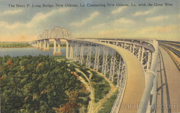 The Huey P. Long Bridge New Orleans Louisiana