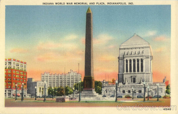Indiana World War Memorial And Plaza Indianapolis