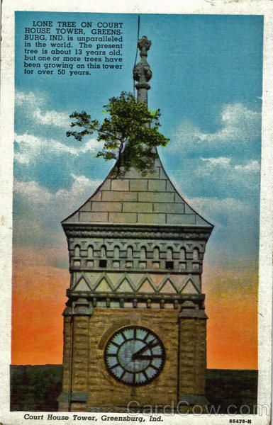 Court House Tower Greensburg Indiana