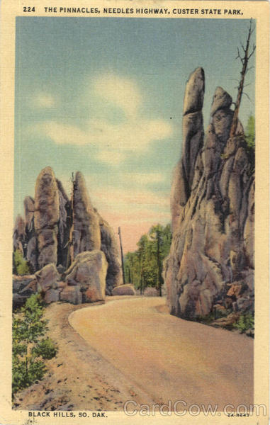 The Pinnacles, Needles Highway, Custer State Park. Black Hills South Dakota