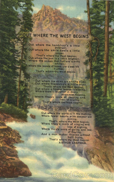 Poem of the West Sterling Colorado