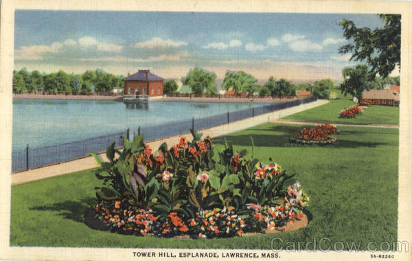 Tower Hill, Esplande Lawrence Massachusetts