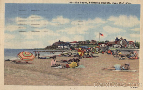 The Beach Falmouth Heights Cape Cod Massachusetts