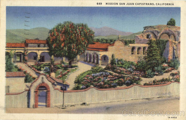 Mission San Juan Capistrano California