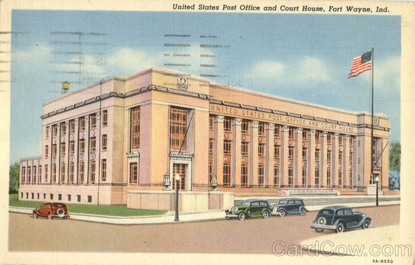 United States Post Office and Court House Fort Wayne Indiana
