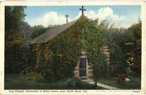 Log Chapel, University of Notre Dame South Bend Indiana