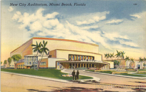 New City Auditorium Miami Beach Florida