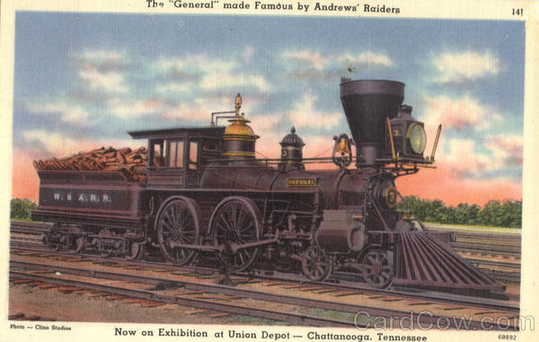 The General Locomotive Chattanooga Tennessee Locomotives