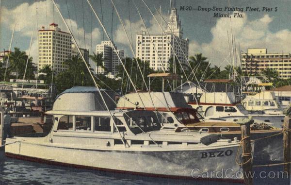 Deep sea fishing fleet pier 5 miami fl for Miami fishing piers