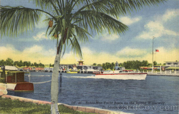 Bahia-Mar Yacht Basin on the Inland Waterway Fort Lauderdale Florida