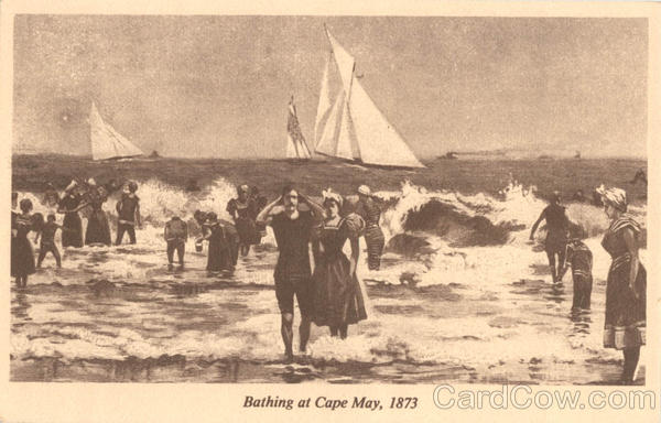 Bathing at Cape may New Jersey