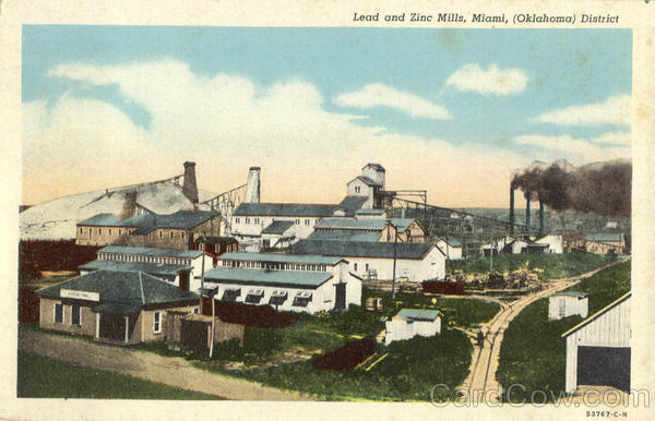 Lead and Zinc Mills Miami Oklahoma