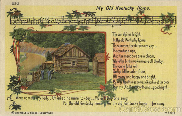 My Old Kentucky Home Scenic