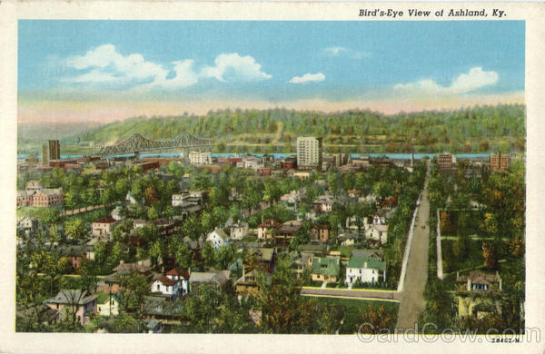Bird's Eye View of Ashland Kentucky