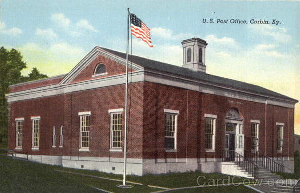 U. S. Post Office Corbin Kentucky