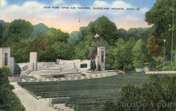 Cain Park Open Air Theater Cleveland Heights Ohio
