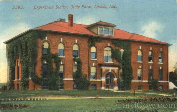 Experiment Station Lincoln Nebraska