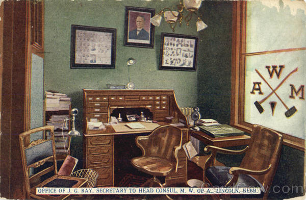 Office of J. G. Ray Lincoln Nebraska