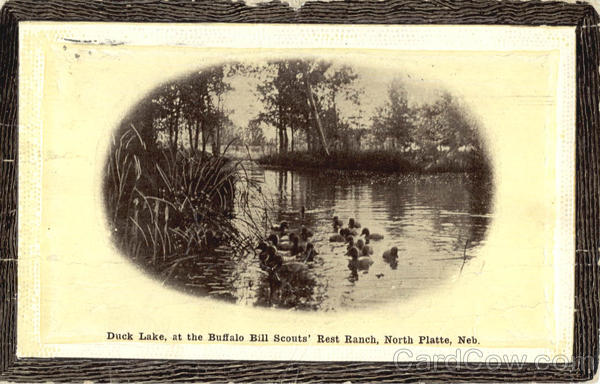 Duck Lake at the Buffalo Bill Scouts, Rest Ranch North Platte Nebraska