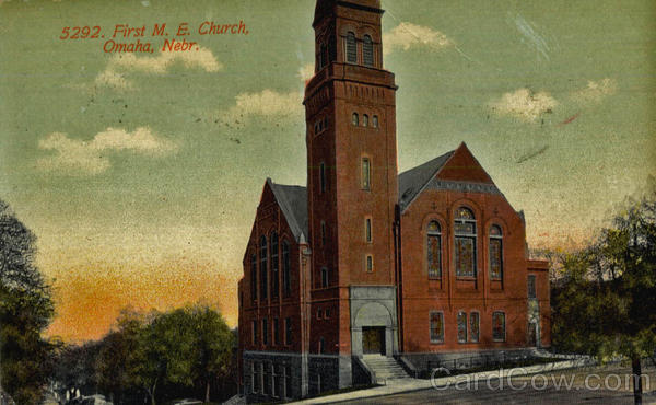 First M. E. Church Omaha Nebraska