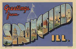 Greetings from Springfield Large Letter