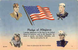 Pledge of Allegiance Army, Navy, Marines, Air Force