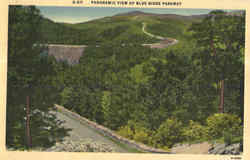 Panoramic View of Blue Ridge Parkway