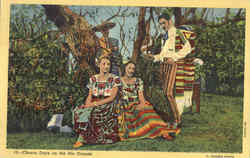 Charro Days on the Rio Grande Postcard