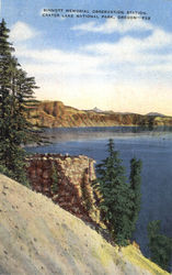 Sinnott Memorial Observation Station, Crater lake National Park