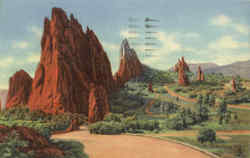 Garden of the Gods, Pike Peak Region
