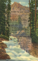 Poem of the West