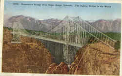 Suspension Bridge over the Royal Gorge