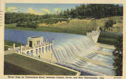 Dover Dam on Tuscarawas River