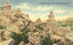 Cathedral Buttes