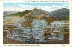 General View of Utah Coper Company's Property Postcard