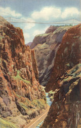 The Royal Gorge and The World's Highest Suspension Bridge