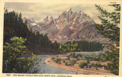The Grand Teton from Dead Man's Bar