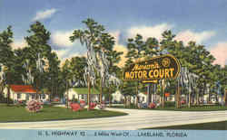 Marion's Motor Court, U. S. Highway 92