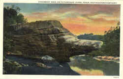 Steamboat Rock on Picturesque Laurel River
