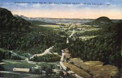 Dixie Highway from top of Big Hill Postcard
