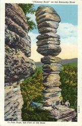 Chimney Rock on the Kentucky River