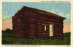 Lincoln Cabin, Abraham Lincoln National Historical Park Postcard