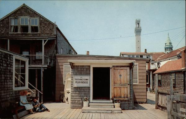 World Famous Provincetown Playhouse - Home of Eugene O'Neill's Plays Vintage Post Card