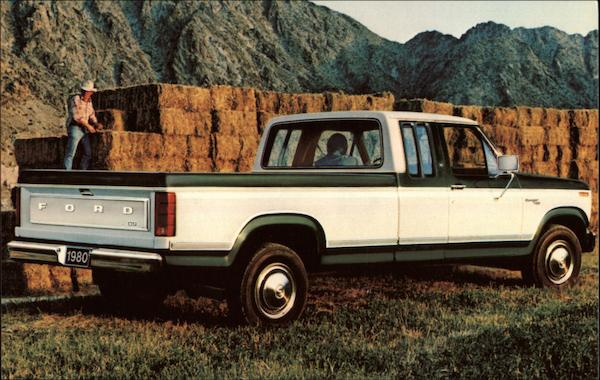 1980s Ford Supercab Pickup Trucks