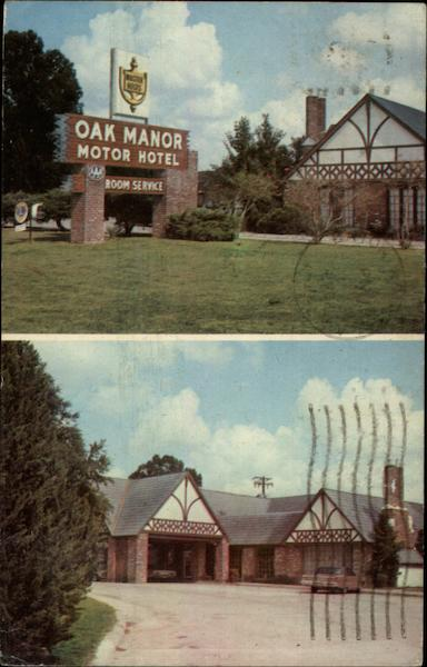 Oak Manor Motor Hotel Baton Rouge Louisiana