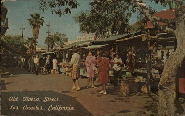 Old Olvera Street, Los Angeles, California